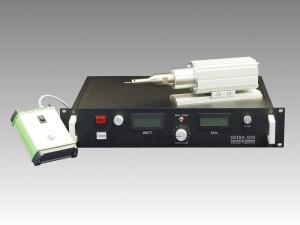 발생기와 수동 컨트롤 유닛이 있는 28 kHz 초음파 트랜스듀서