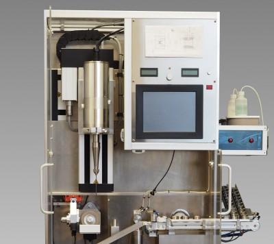 Bohr- und Polierautomat Ultramatic für die Ziehsteinbearbeitung