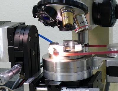 Ziehsteinbearbeitung mit Laser